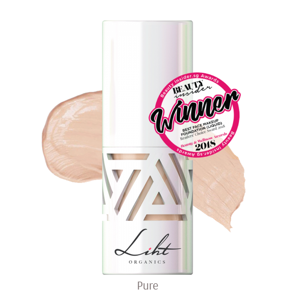 Liht Organics Youth Elixir Foundation - Pure